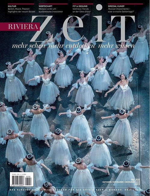 e-Magazine RivieraZeit #315 - Oct/Nov/Dec 2019