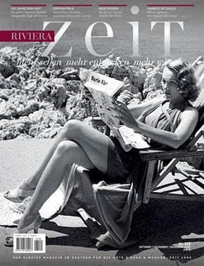 Magazine RivieraZeit n°319 - Oct/Nov/Déc 2020
