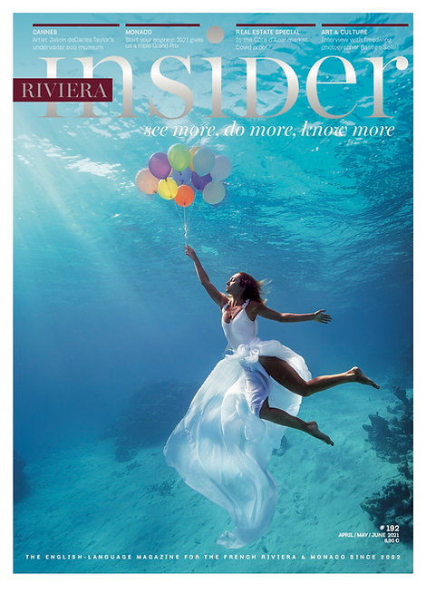 Magazine Riviera Insider n°192 - Avril/Mai/Juin 2021