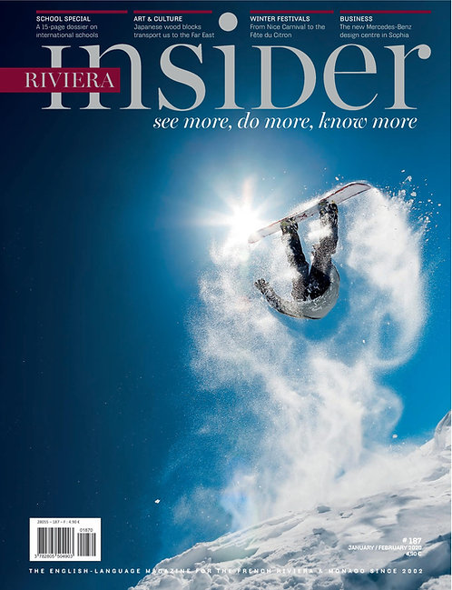 e-Magazine Riviera Insider #187 - Jan/Feb 2020