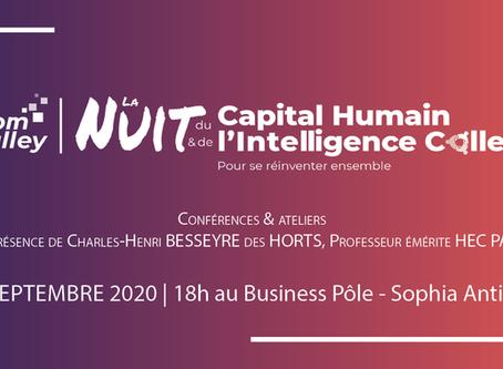 START Guide : 22/09, participez à la « Nuit du Capital Humain et de l'Intelligence Collective »