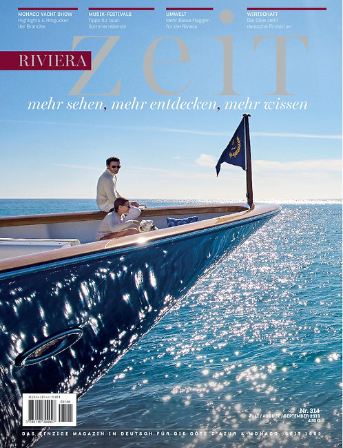 Magazine RivieraZeit #314 - July/Aug/Sept 2019