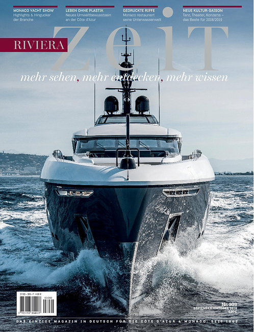 e-Magazine RivieraZeit #309 - Sept/Oct 2018