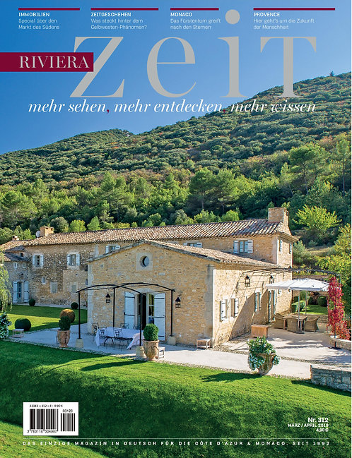 e-Magazine RivieraZeit #312 - March/April 2019