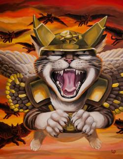 Hawk Cats, Dive!