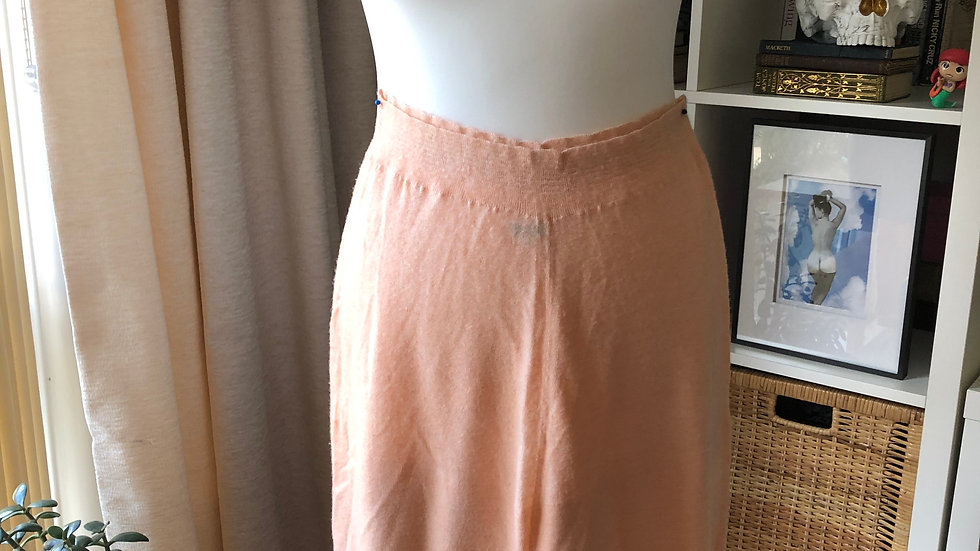 Rare 1930's Peach Wool Rayon Bloomers by Smedleys