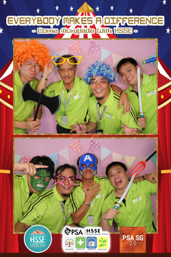 Photo Booth with Fun Props