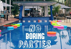 Event Planning Services Pool Party