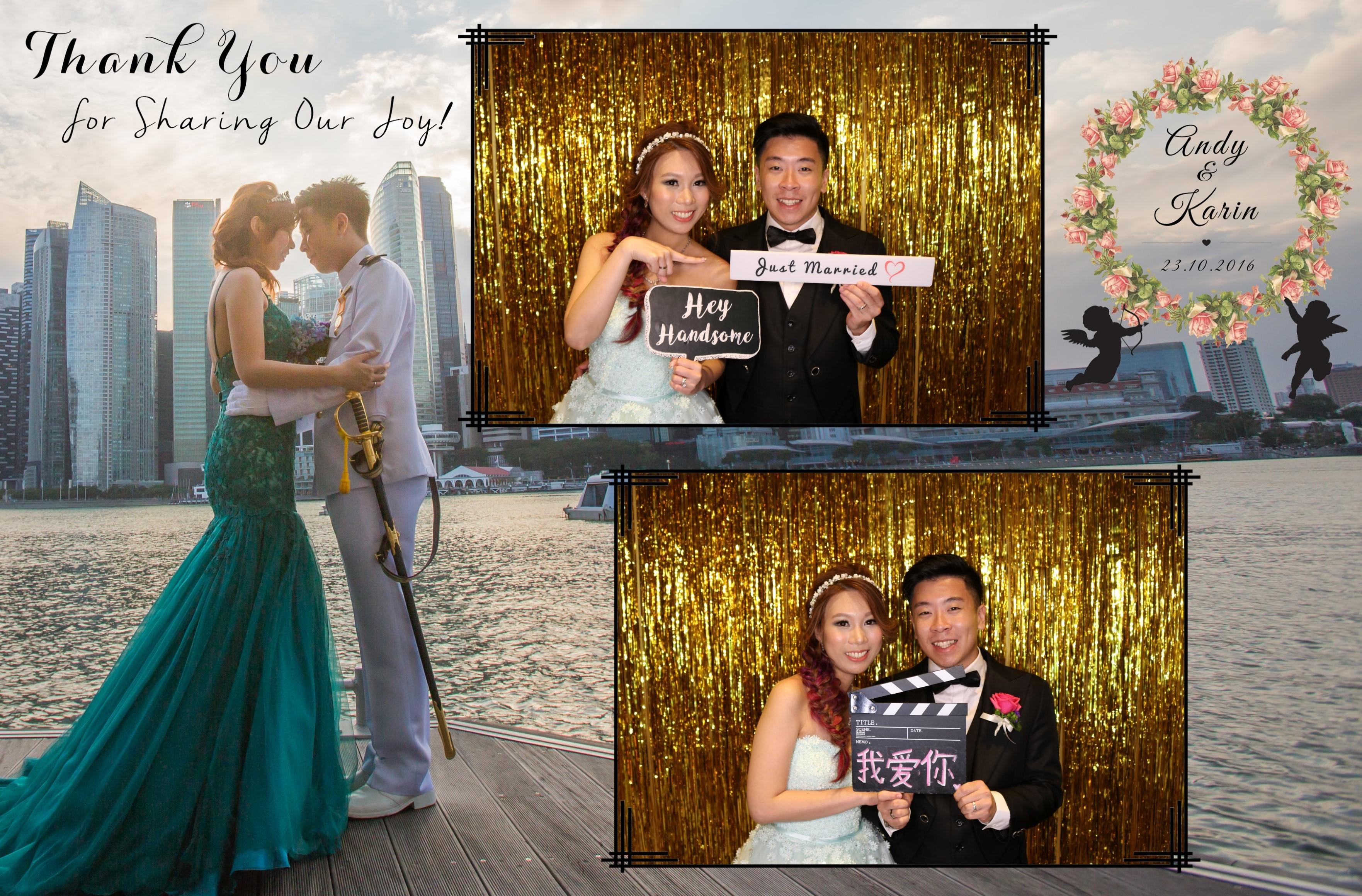 Singapore Wedding Photo Booth