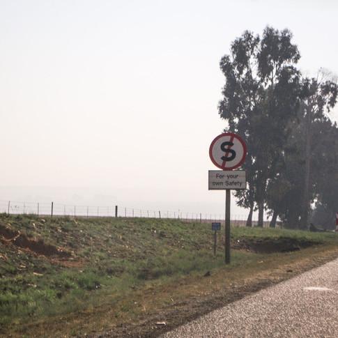 Ohutuse huvides on keelatud sõiduki peatamine