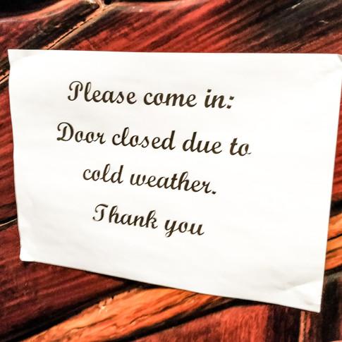 Külm ilm tähendas, et õhtul oli väljas 20 kraadi sooja