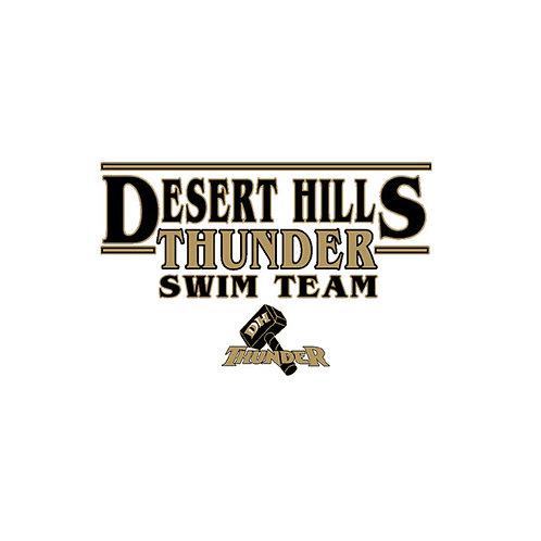 DHHS Swim Team Car Decal