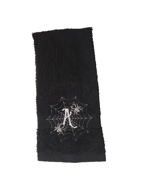 Halloween Spider Bathroom Hand Towel