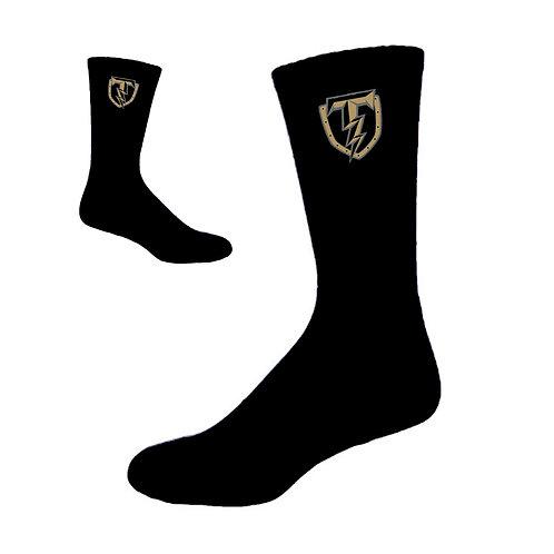 Thunder Football Socks