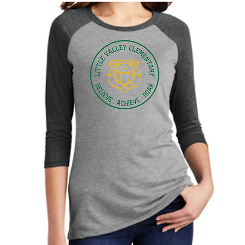 Little Valley 3/4 Sleeve Shirt (Adult Sizes Only)