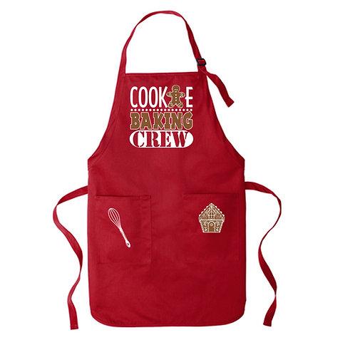 "Christmas Apron ""Cookie Baking Crew"""