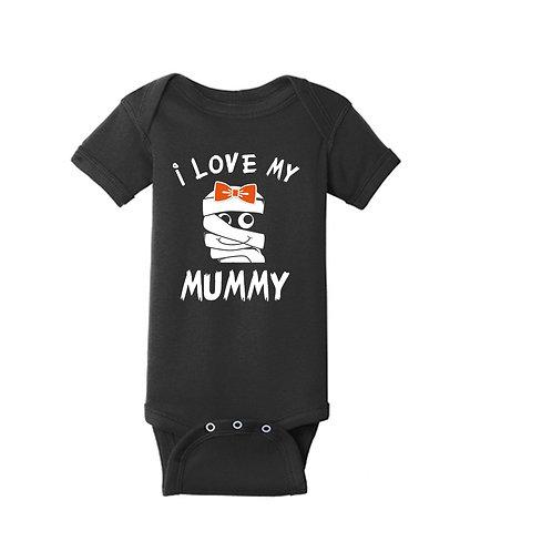"""Halloween """"I Love my Mummy"""" Onesie/Toddler T"""