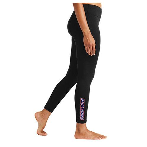 Crimson Middle Sport-Tek® Ladies 7/8 Legging