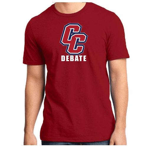 CCHS Debate Soft Cotton Tee Shirt