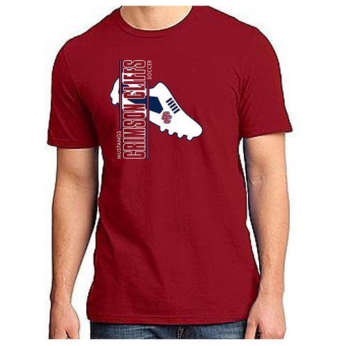 CCHS Soccer Shoe Tee Shirt