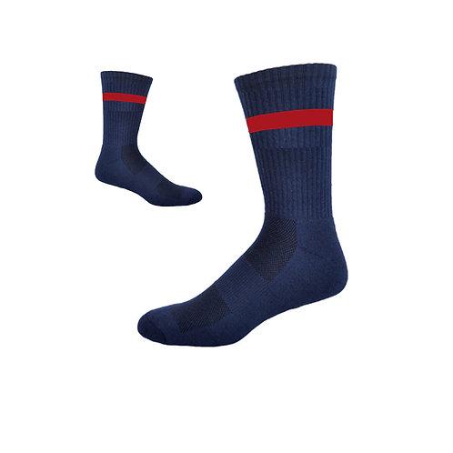 Mustangs Football Socks