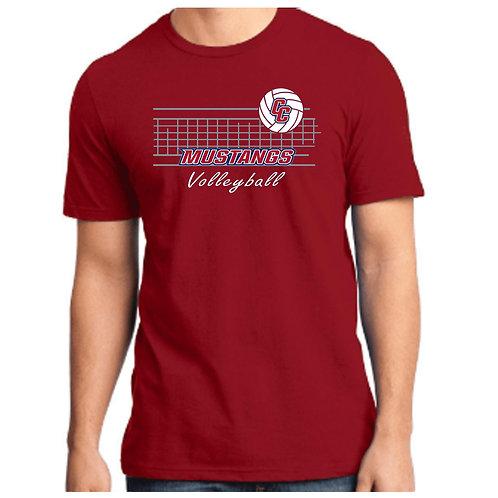 CCHS Volleyball Net Soft Cotton Shirt