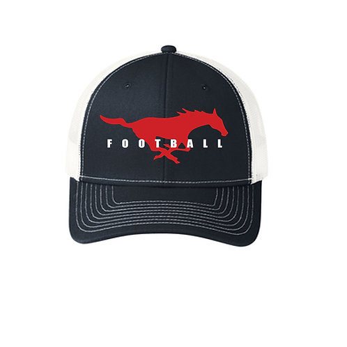 Mustang Snap Back Trucker Hat
