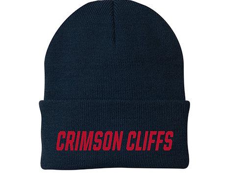 Crimson Middle Port & Company® - Knit Cap