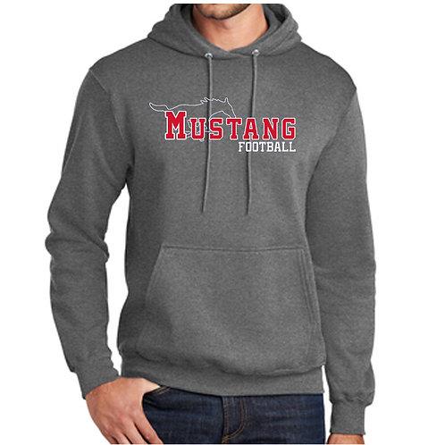 Mustang Football Hoodie