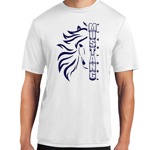 Mustang Football Drifit Wild Shirt