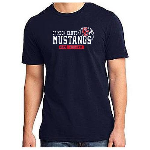 CCHS Soccer Mustangs Tee Shirt