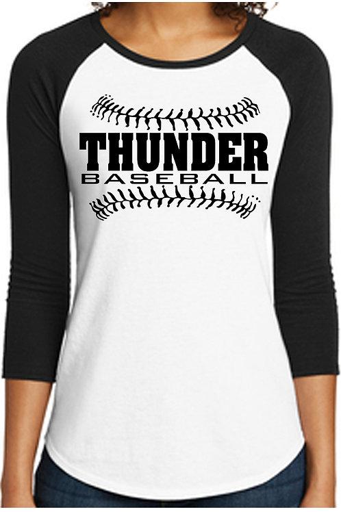Ladies 3/4 custom jersey