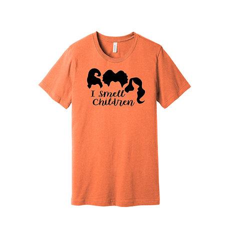"""Halloween """"I Smell Children"""" T-Shirt"""