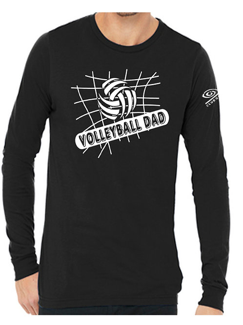 Volleyball Dad long sleeve
