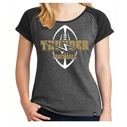 Ladies Heritage Thunder Football Shirt