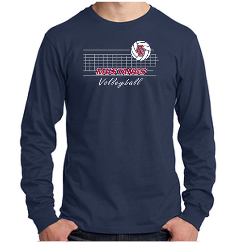 CCHS Volleyball Net Long Sleeve Shirt