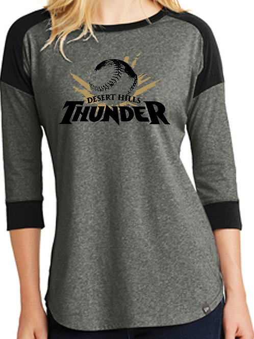Ladies Major-League 3/4 shirt
