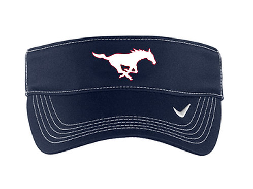 Crimson Middle Nike Visor