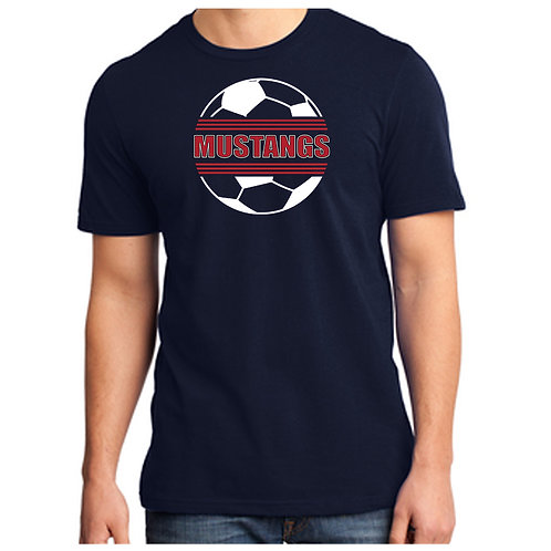 CCHS Soccer Ball Soft Cotton Tee Shirt