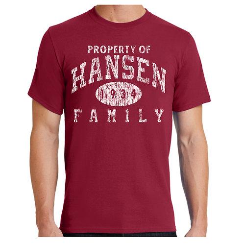 Hansen Reunion Tshirts