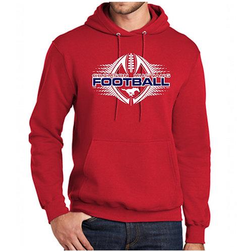 Mustangs Football Hoodie