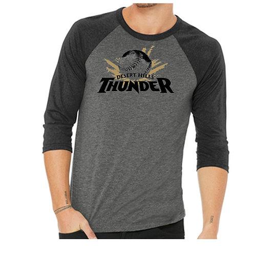 DHHS Baseball 3/4 Baseball shirt