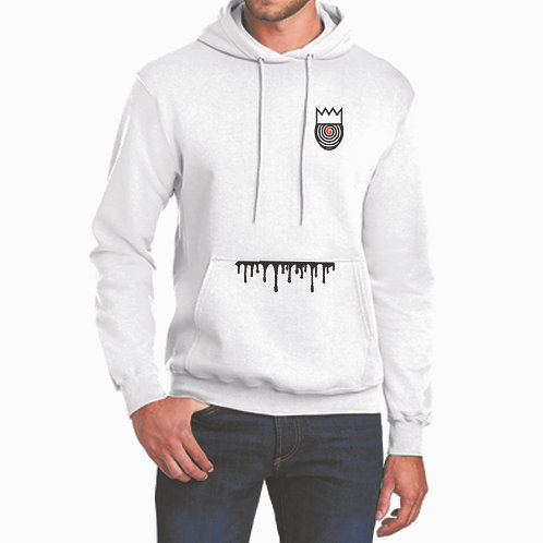 Gone Embroidered Brand Hoodie