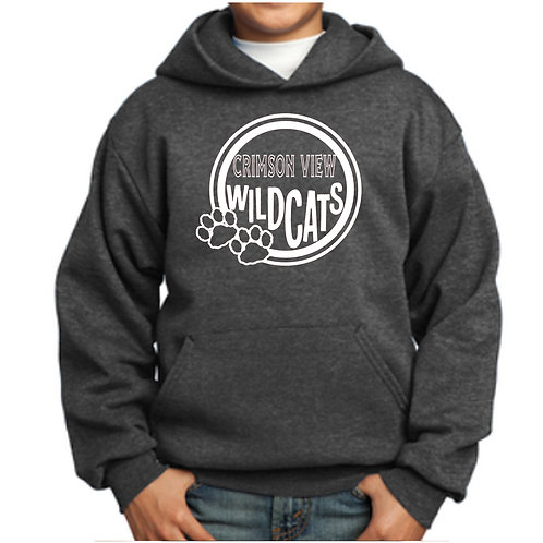 Crimson View Hoodie -  Pullover (Youth & Adult)