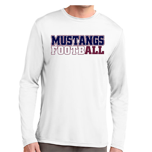"Mustang Football ""All in"" Long Sleeve Shirt"