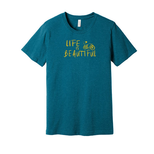 """Life is Beautiful"" shirt"