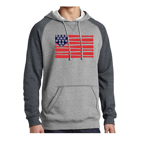 Washington Baseball Flag Hoodie