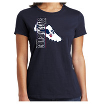 navy shoe ladies tshirt.jpg