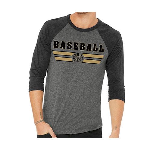 DHHS New 3/4 Baseball shirt