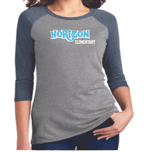Horizon 3/4 Sleeve Shirt (Adult Sizes Only)